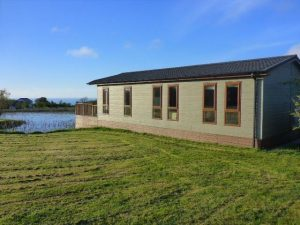 **NOW SOLD** – Pre-Owned Large Twin Lodge for Sale with Sea Views on Luxury Lodge Park **NOW SOLD**