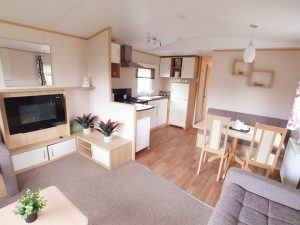 Cheap Used 3 bedroom Static Caravan for sale in Ribble Valley