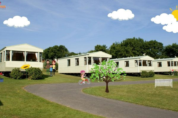 caravan at caravan on site