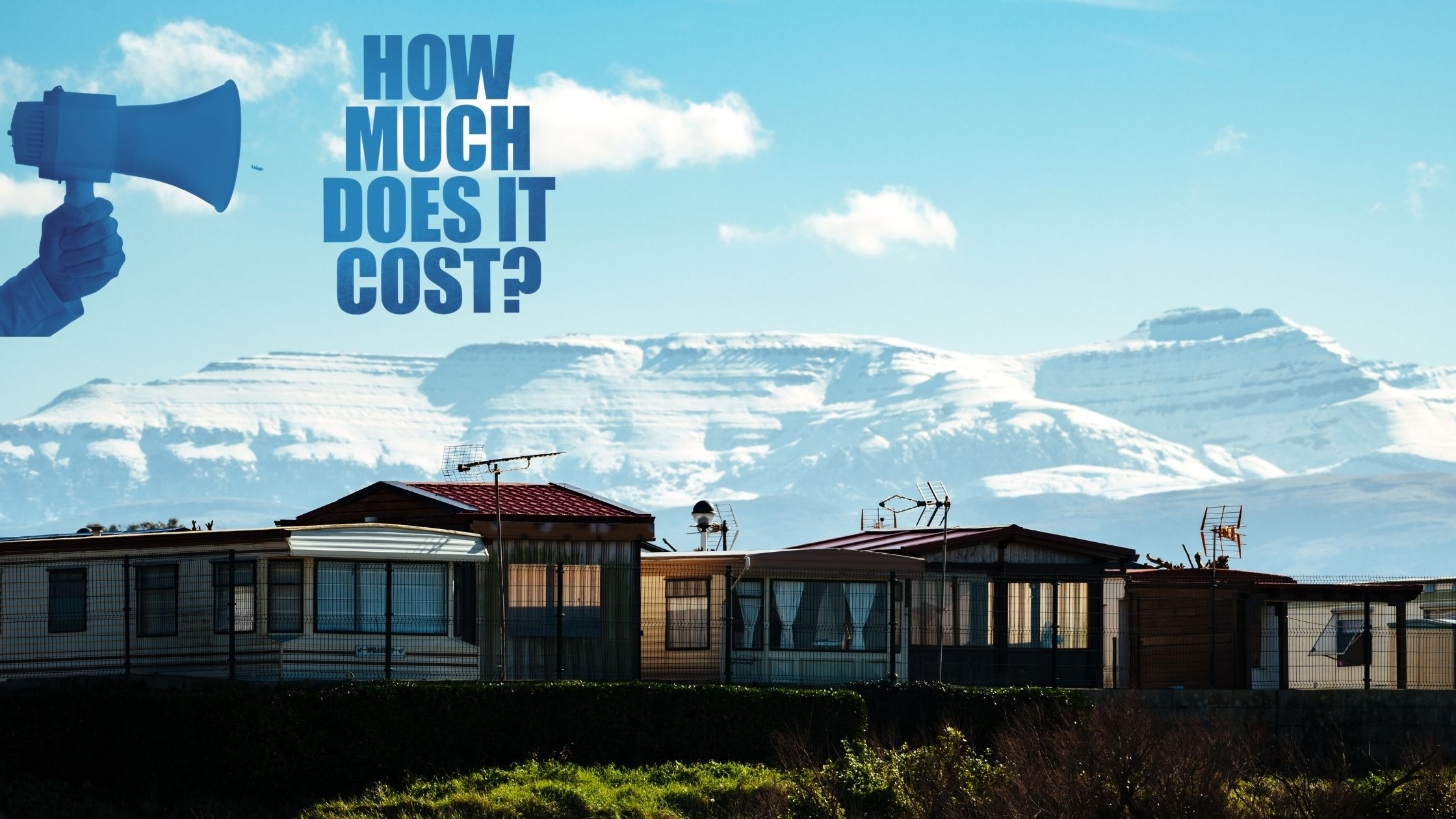 How much is a static caravan?