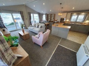 Luxury Lodge at Rye Harbour Holiday Park