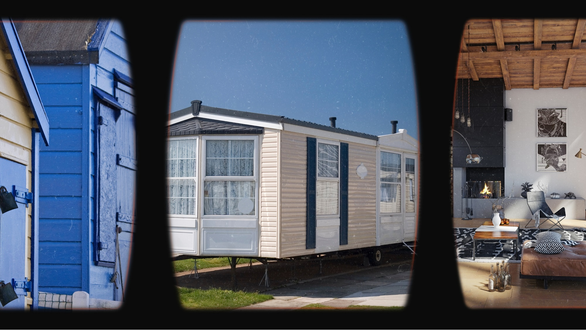 Chalets or Caravans
