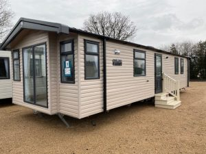 Swift Burgundy 2 Bedroom Caravan